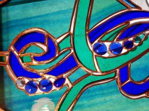 Kraken foiled detail